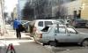 """Суровая весна: в Петербурге огромная глыба """"убила"""" автомобиль"""