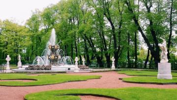 Летний и Михайловский сады закрыли на просушку к майским праздникам