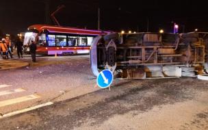 По факту ДТП с трамваем и маршруткой на улице Десантников возбудили уголовное дело