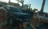 На пункте оплаты ЗСД на Благодатной улице столкнулись две иномарки