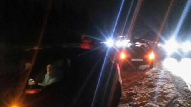"""На """"Скандинавии"""" машины потеряли колеса из-за огромных ям"""