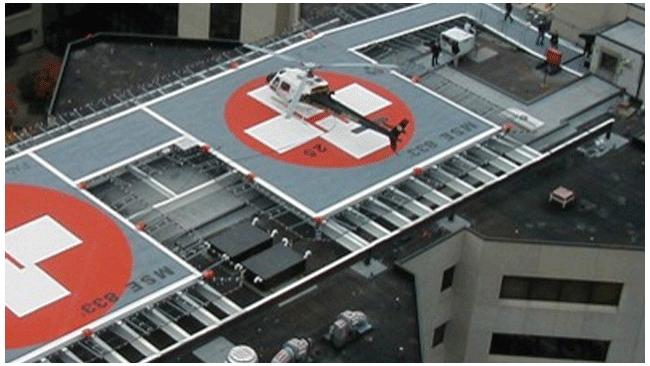 У Елизаветинской и Александровской больниц появятся вертолетные площадки