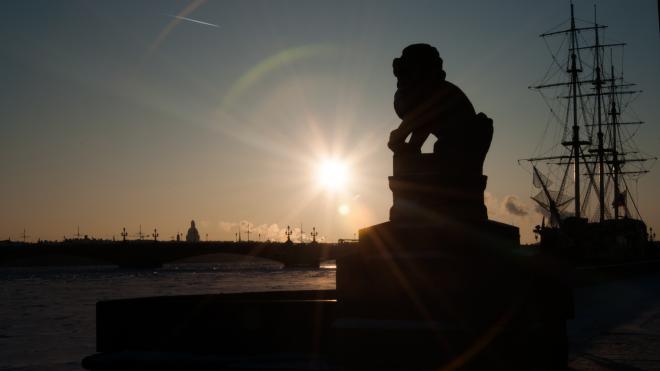 В субботу в Петербурге будет сухо и солнечно при +10