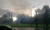 На Балтийской улице дождь и МЧС тушили пожар в неэксплуатируемом здании