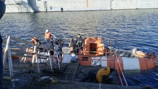 На Канонерском заводе в Петербурге усовершенствовали глубоководный аппарат для Черноморского флота