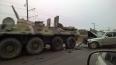 На Краснофлотском шоссе немецкая иномарка смялась о БТР