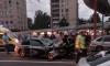 На проспекте Славы водитель Subaru погиб, протаранив КАМАЗ