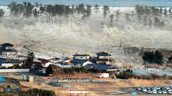 Сильное землетрясение напугало Японию