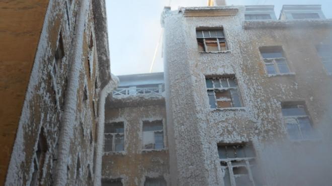 На Васильевском острове люди неделю живут без тепла