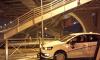 Под мостом Бетанкура каршеринговое авто снесло дорожное ограждение