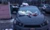 На Цимбалина машину из Башкирии закидали мусором за неудачную парковку
