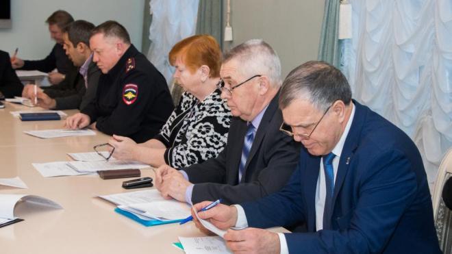 В администрации Выборгского района прошло заседание антитеррористической комиссии