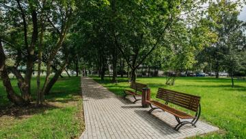 Завершено благоустройство скверов на улице Крыленко