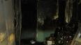 В Колпинском районе ночью сгорело общежитие