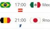 Плей-офф ЧМ-2018: расписание матчей на 2 июля