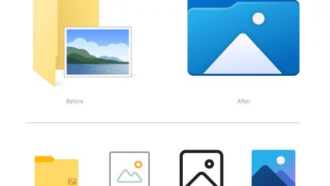 Microsoft обновила внешний вид иконок в Windows 10