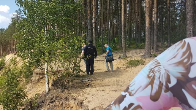 В Токсово нашли тело утопленника на берегу карьера