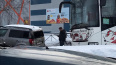 """Шкода"" и пассажирский автобус столкнулись у ТРК ""Cubus""..."
