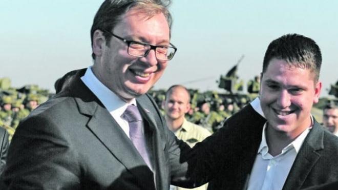 Сын президента Сербии заразился коронавирусом
