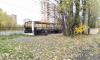 Фрунзенский муниципалитет попросил увезти с Фарфоровского поста сгоревший автобус