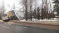В Ленинградской области маршрутки улетели в кювет