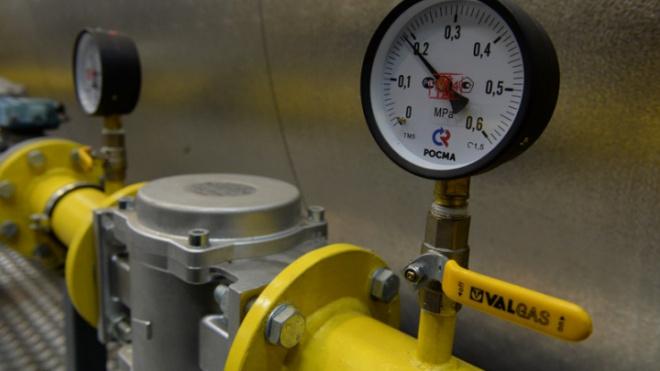 В посёлке Дзержинского запустили газ по новому газопроводу