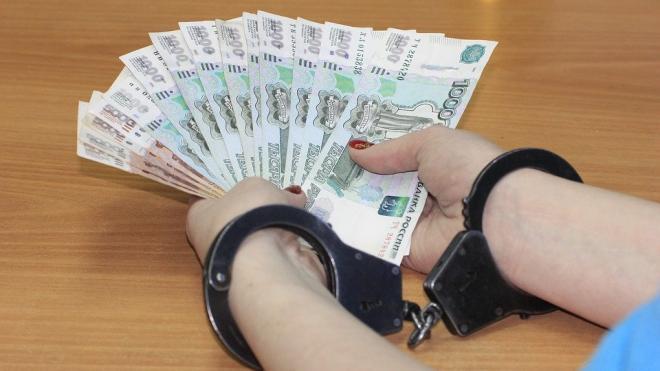 В Петербурге задержали следователя за взятку в размере 3,5 млн рублей