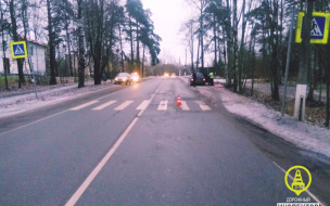 Иномарка сбила пенсионерку на Ленинградском шоссе