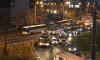 В Петербурге два троллейбуса попали в аварию на одном участке дороги с интервалом в 15 минут