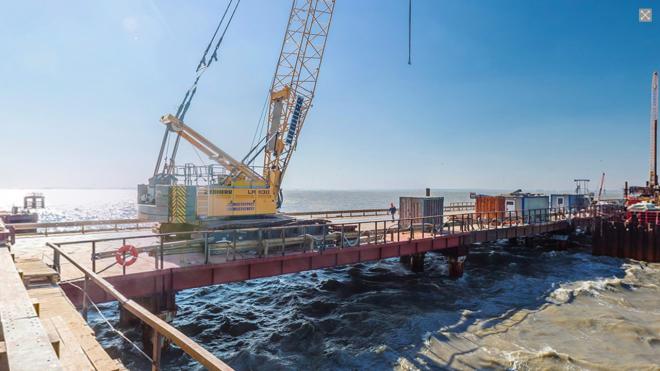 Керченский мост будут защищать гидроакустические системы безопасности