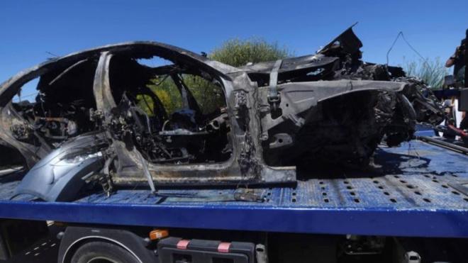 Испанский футболист Хосе Антонио Рейес перед гибелью ехал со скоростью 237 км/час