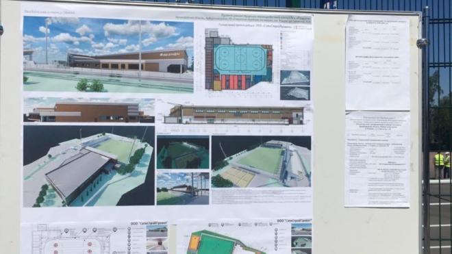 В Рощино построят ледовую арену с символикой Ленобласти