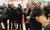 Владимир Жириновский пустился в пляс в торговом центре в Петербурге