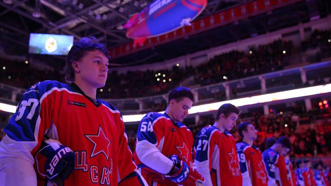 ЦСКА стал победителем регулярного чемпионата КХЛ