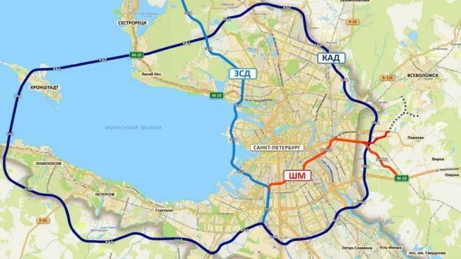 Власти Петербурга подтвердили начало строительства Широтной магистрали скоростного движения в начале 2021 года
