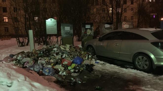А почему бы и нет: на Васильевском острове разрастается незаконная свалка