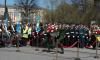 В День Победы на площади Выборгских полков прошел торжественный митинг