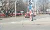 Трамваи встали в обе стороны на площади Мужества