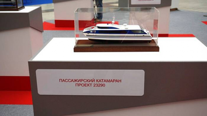 В Петербурге презентуют катамаран на 150 пассажиров