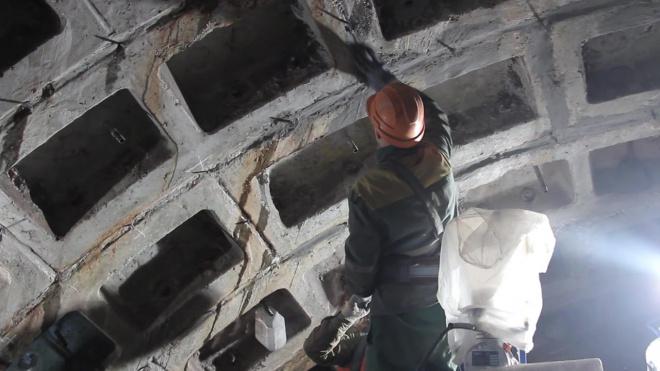 """Около станции метро """"Путиловская"""" остановили работы по проходке  левого перегонного тоннеля"""