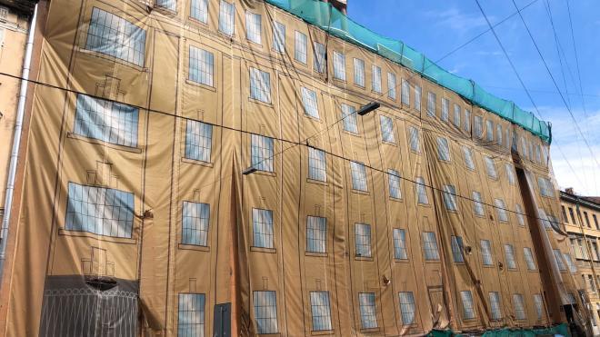 В Петербурге отреставрируют здание штаба второго корпуса ПВО в центре города
