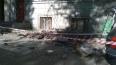 Балкон на Московском проспекте рухнул от старости