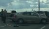 Автомесиво на КАД: движение на мосту встало из-за массовой аварии