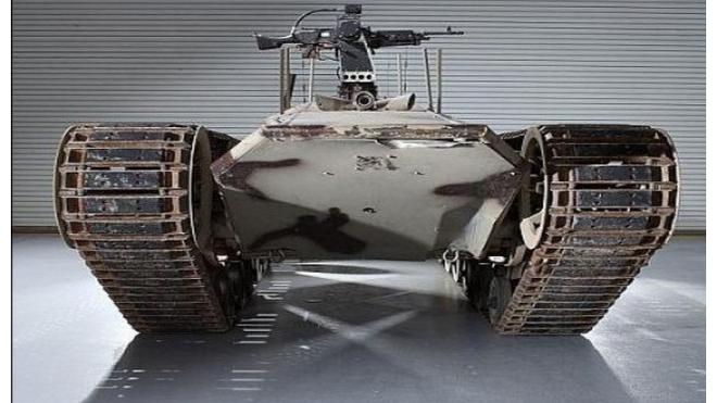"""Министерство обороны разрабатывает модель """"необитаемого"""" танка"""