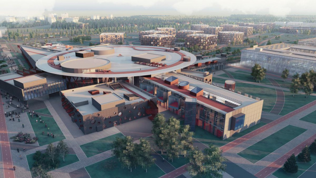 Градостроительный совет одобрил кампус университета ИТМО в пригороде Санкт-Петербурга