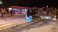По факту ДТП с трамваем и маршруткой на улице Десантников ...
