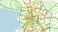 На дорогах Петербурга произошел транспортный коллапс