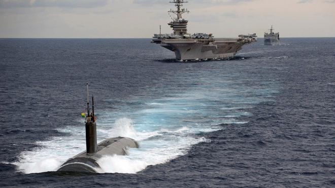 Масштаб крупнейших учений ВМС США сократили из-за COVID-19