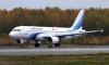 Самолет вернулся в Петербург из-за треснувшего стекла в кабине пилотов