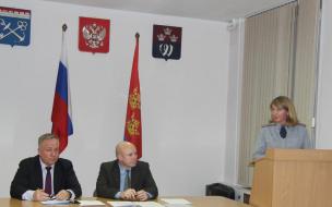Межведомственная комиссия собралась на заседании в Выборге по профилактике правонарушений